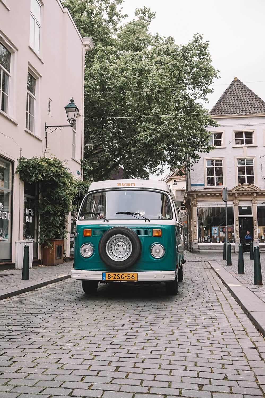 elektrisch volkswagenbusje evan