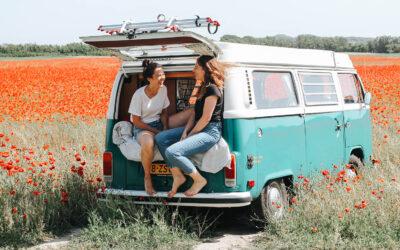 Hallo duurzame roadtrip! Ga op pad in een elektrisch Volkswagenbusje van evan